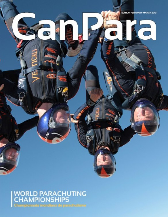 CanPara feb-march 2013 edition cover