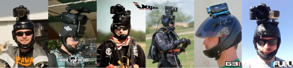 camera helmet evolution