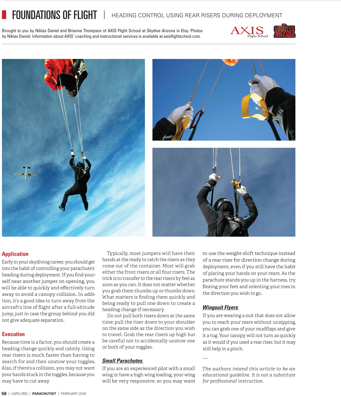 Heading cont  sc 1 st  Niklas Daniel & Swooping / Canopy Piloting | Niklas Daniel